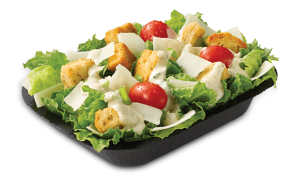 wendys small side salad