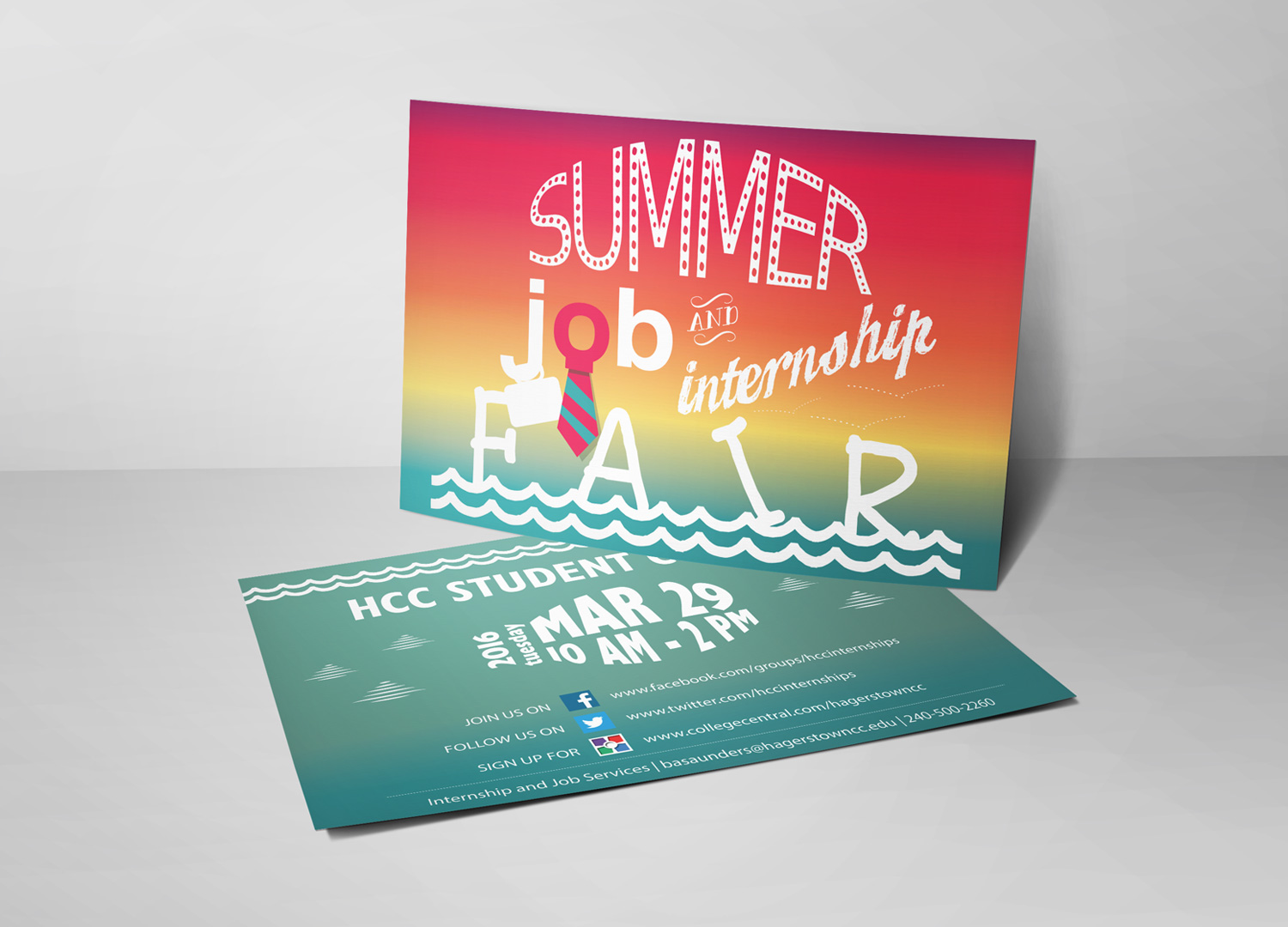 creative mind central hcc summer job and internship fair hcc summer job internship fair 2016 mockup